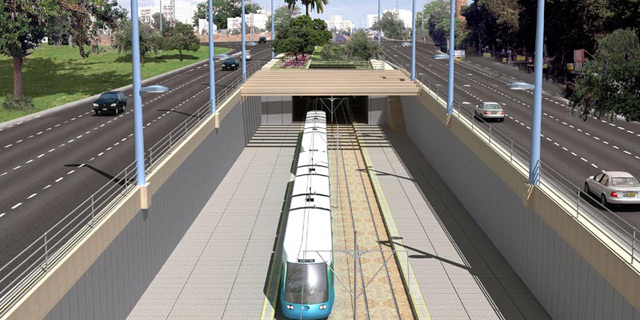 """דניה סיבוס ו-China Civil יחפרו את המנהרות במקטע המזרחי של הרכבת הקלה בת""""א"""