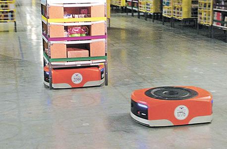 רובוט אמזון, צילום: איי פי