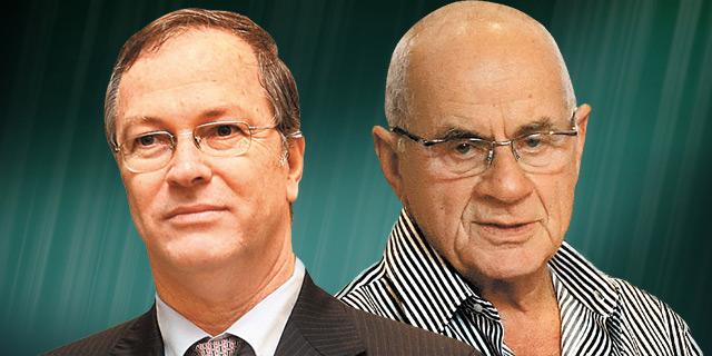 מימין: שרגא בירן ודודי ויסמן, צילום: אוראל כהן עמית שעל