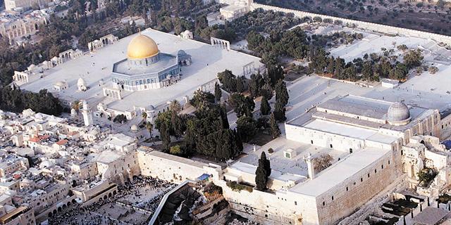 הר הבית, ירושלים. סיווג הסעת מתפללים כרגיש נעשה שלא לצורך, צילום: עטא עוויסאת