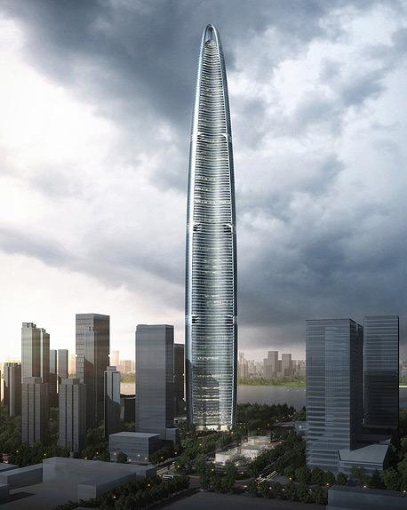 הבנייה צפויה לעלות 4.5 מיליארד דולר, והמגדל מתוכנן כך שיכלול מאפיינים לחסכון באנרגיה, צילום: Kohn Pedersen Fox Associats
