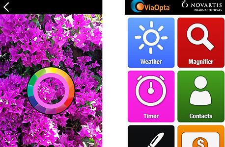 אפליקציה עוורים לקויי ראיה via opta daily, צילום מסך: Youtube