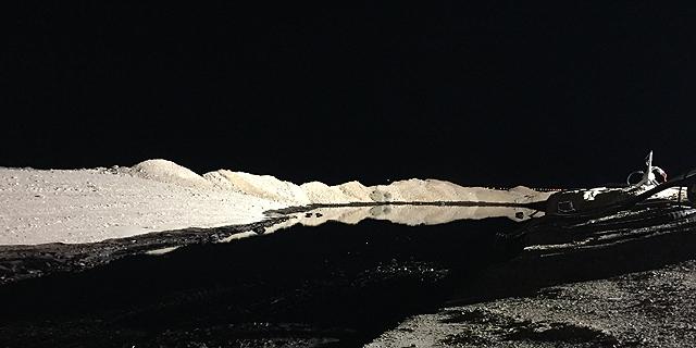 דליפת נפט בבאר אורה, צילום: דוברות המשרד להגנת הסביבה