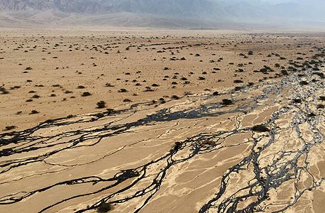 דליפת הנפט בשמורת עברונה