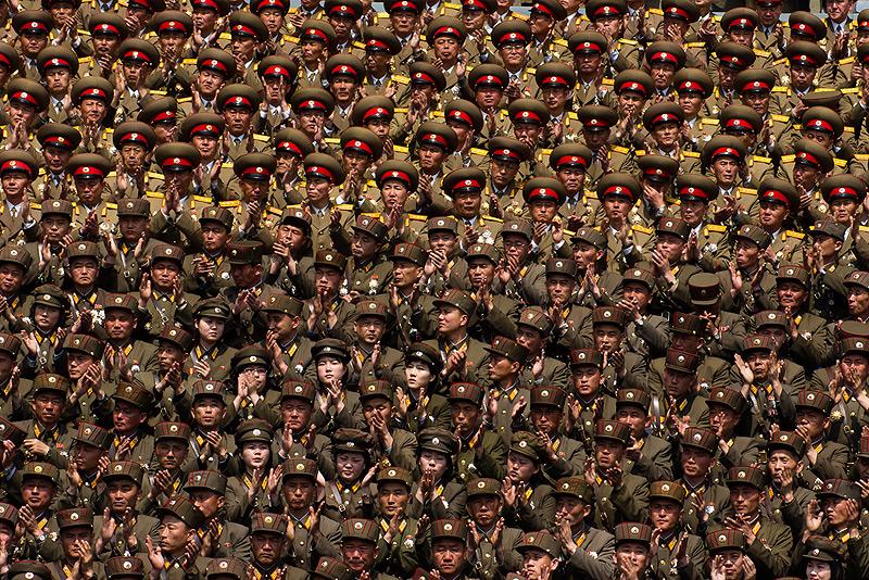 פוטנציאל גיוס מהגבוהים בעולם. צבא צפון קוריאה