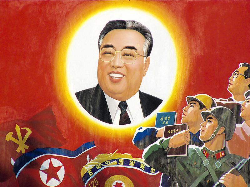 קים איל-סונג. מנהיג המדינה הראשון