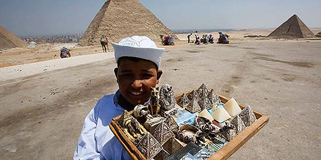 מצרים: ההכנסות מתיירות רשמו שיא היסטורי