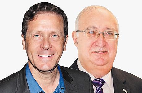 מנואל טרכטנברג ו יצחק הרצוג , צילום: דמיטרי שבצ'ינקו