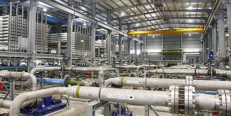 חשד לשחיתות ומחדלים לכאורה-מתקן ההתפלה יוקם בידי חברה שהיטתה נתוני איכות מים 21525562_H483746_l