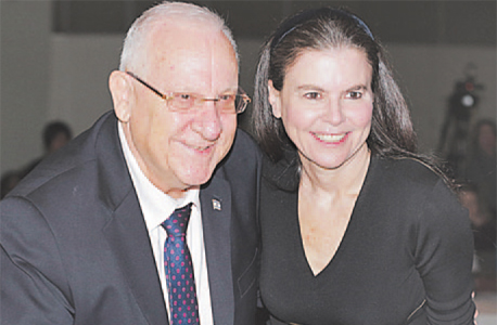 מימין עפרה שטראוס ו רובי ריבלין