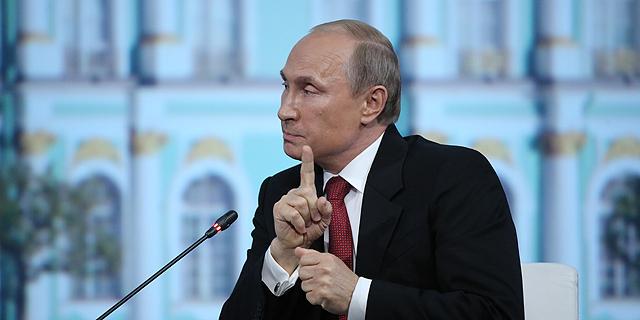 ולדימיר פוטין. הוביל את מדינתו לאחד המשברים הכלכליים החמורים בתולדותיה, צילום: בלומברג