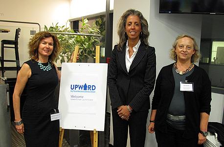 ליסה למברט (במרכז), מנהלת הקרן