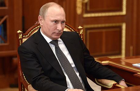 ולדימיר פוטין נשיא רוסיה 16.12.14, צילום: איי פי