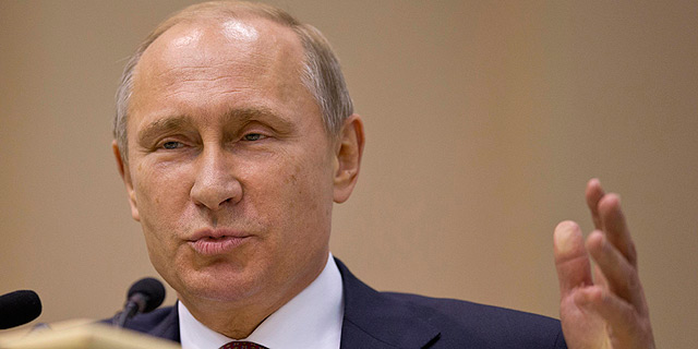 """פוטין: """"לא נבזבז רזרבות להגנת הרובל, הכלכלה תתגבר תוך שנתיים"""""""