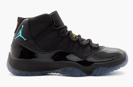הנעליים הכי נמכרות השנה: Jordan 11 Retro Gamma Blue הושקו בדצמבר 2012 ב־185 דולר, מאז נמכרו 18,953 זוגות ב־316 דולר בממוצע
