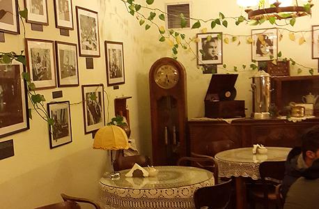 בית הקפה במוזיאון למרד הפולני