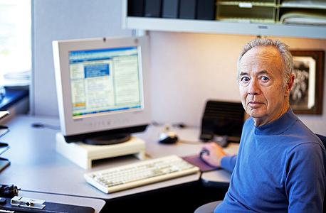 """אנדי גרוב, מנכ""""ל אינטל לשעבר. הקימו שדרת דקלים לכבודו בסינגפור, צילום: בלומברג"""