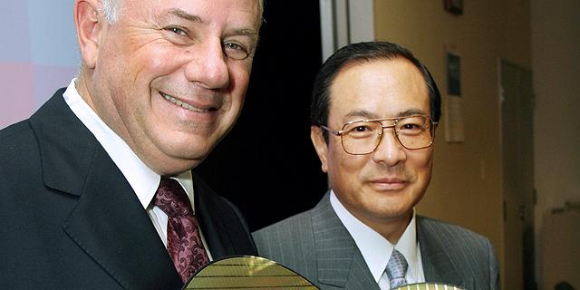 הררי (משמאל), סגן נשיא טושיבה מסאשי מורומאצ
