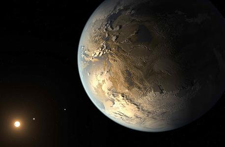הדמיה של קפלר 186f , צילום: NASA/Bill Ingalls
