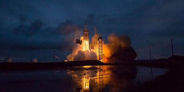 השיגור של הניסוי המשמעותי הראשון של ספינת החלל אוריון, צילום: NASA Ames/SETI Institute/JPL-CalTech