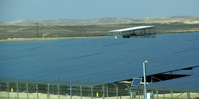 מתקן סולארי, צילום: דור מנואל