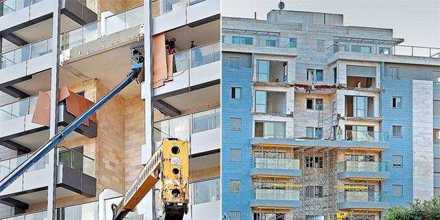 """המהנדס בן עזרא: """"הבניין של גינדי שבו קרסה המרפסת חוזק ללא היתר"""""""