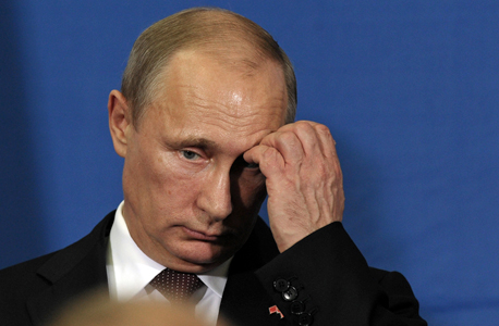 ולדימיר פוטין נשיא רוסיה אוקטובר 2014 , צילום: בלומברג