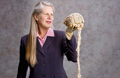 ג'יל טיילור עם מוח אמיתי