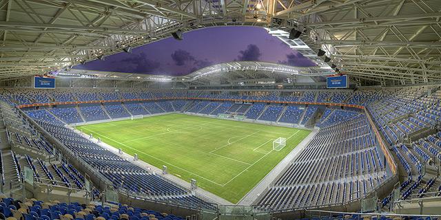 האצטדיון החדש בחיפה הפסיד 7 מיליון שקל בשנת 2015
