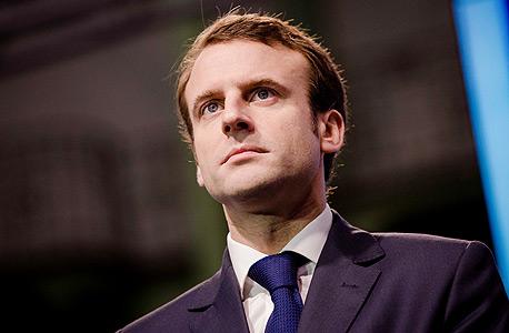 עמנואל מקרון שר הכלכלה  ה צרפתי, צילום: בלומברג