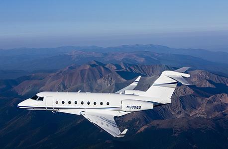 """מטוס G280 תע""""ש"""