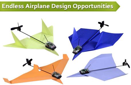 יודעים להכין מטוס נייר? באמצעות הערכה הזו, גם תשלטו בו