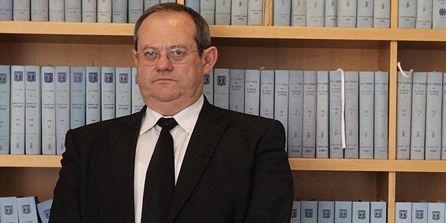 השופט שפרש משה גלעד, צילום: עמית מגל