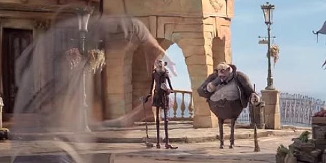 ומה אם אנחנו בעצם דמויות בסרט אנימציה?