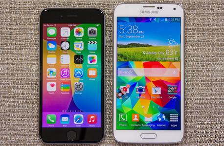 גלקסי 5 ואייפון 6
