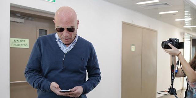 אילן בן דב. הסביר כי הוא סובל ממחלת ריאות, צילום: אוראל כהן