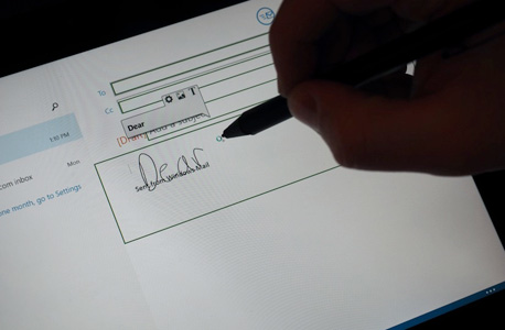 לנובו זיהוי כתב יד אפליקציה