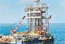 אסדת קידוח נפט במכסיקו, צילום: בלומברג