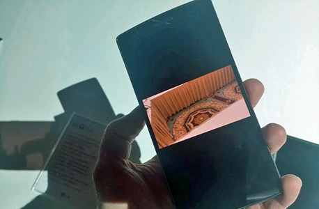 סמארטפון LG G FLEX 2 6, צילום: דור צח
