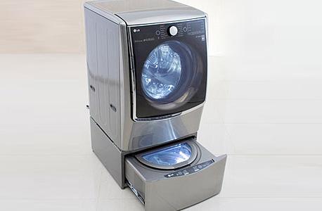 מכונת כביסה LG twin wash ces 2015