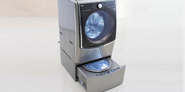 מכונה קומבינה: שני סוגי כביסות נפרדות במכונה אחת