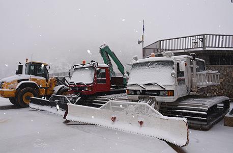 סופת השלג בצפון