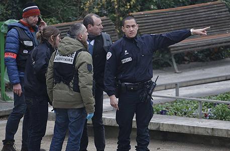זירת הפיגוע בעיתון הצרפתי. 11 הרוגים , צילום: רויטרס
