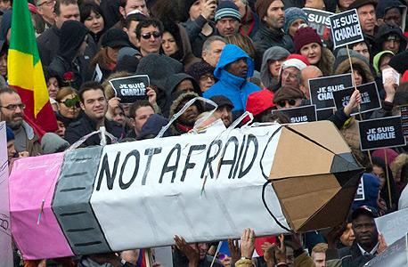 פריז, עצרת המונים נגד הטרור