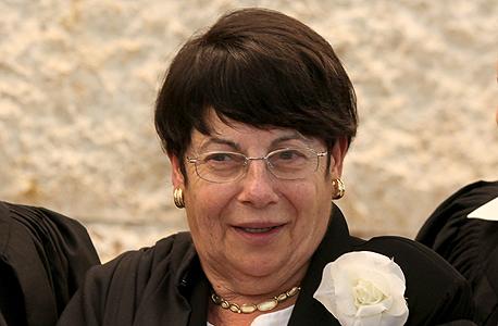 מרים נאור הנשיאה החדשה של בית המשפט העליון, צילום: עמית שאבי
