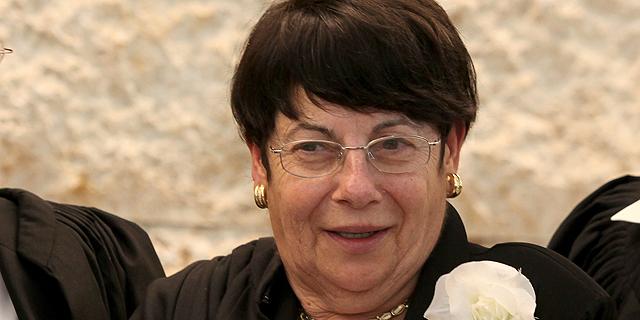 נשיאת בית המשפט העליון מרים נאור, צילום: עמית שאבי