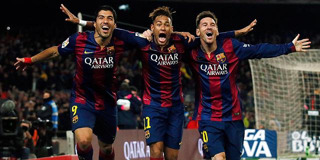 ניימאר בברצלונה. צוות מנצח, צילום: רויטרס