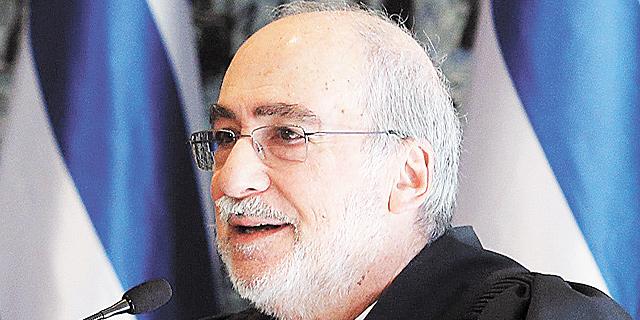 """יו""""ר ועדת האיתור השופט (בדימוס) אשר גרוניס, צילום: עמית שאבי"""