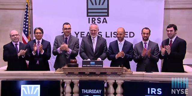 אדוארדו אלשטיין פתח היום את המסחר בבורסה של ניו יורק