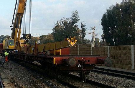 רכבת ישראל חילוץ, צילום: רכבת ישראל